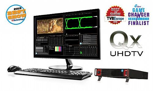 PHABRIX and the UHDTV Qx at NAB